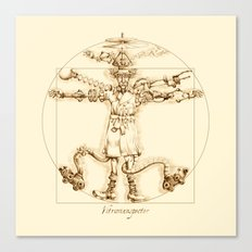 Vitruvianspector Canvas Print