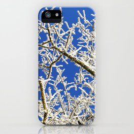 Frozen branches iPhone Case