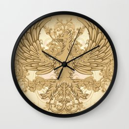 Vintage Phoenix Wall Clock