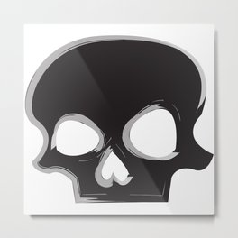 I've Lost My Jaw Metal Print