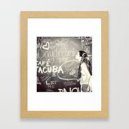 Day Dreamin' Framed Art Print