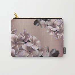Plumerias Ombre Carry-All Pouch