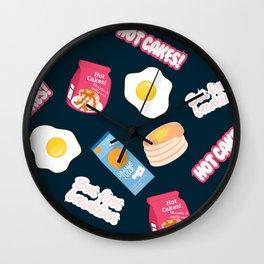 But First Breakfast Wall Clock