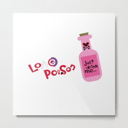 Love Poison 003 Metal Print