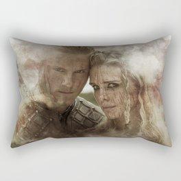 Warriors Fate Rectangular Pillow
