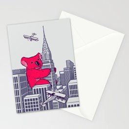 Koala Kong Stationery Cards