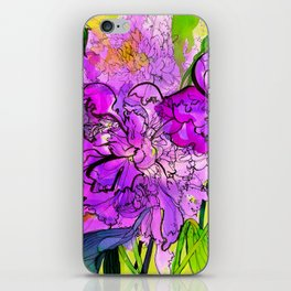 Summer Peonies iPhone Skin