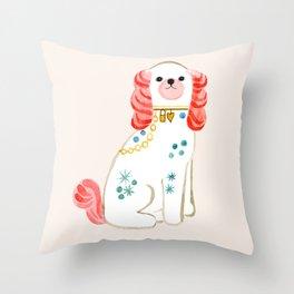 Spaniel Throw Pillow