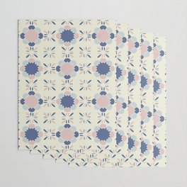Pastel Tile Wrapping Paper