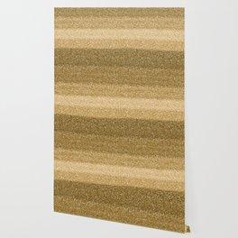 Glitter Glittery Copper Bronze Gold Wallpaper