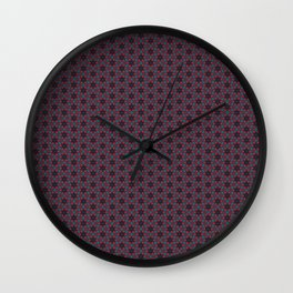 Untitled Pattern 1 Wall Clock