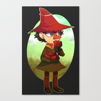 moomin Canvas Prints featuring Joxter by lemonteaflower