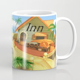 Costa Del Sol Surfing Suntan Coffee Mug