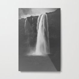 gorgeous selandjafoss waterfall / iceland  Metal Print