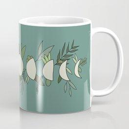 Floral Moon Phase Coffee Mug