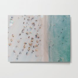 summer beach iii Metal Print