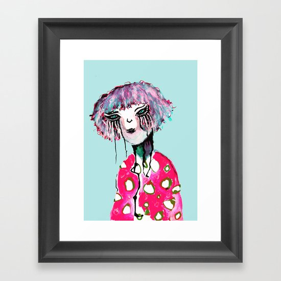 DRIP? Framed Art Print