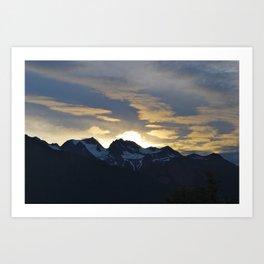 Chilkat State Park, Alaska Art Print