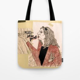 """""""just be yourself!"""" Tote Bag"""