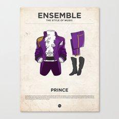 Ensemble - Prince Canvas Print