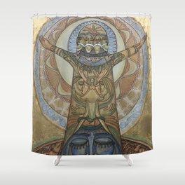 ETERNAL CREATION Shower Curtain