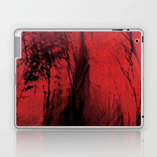 Blood red sky Laptop & iPad Skin