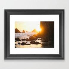 El Matador Sunset Framed Art Print