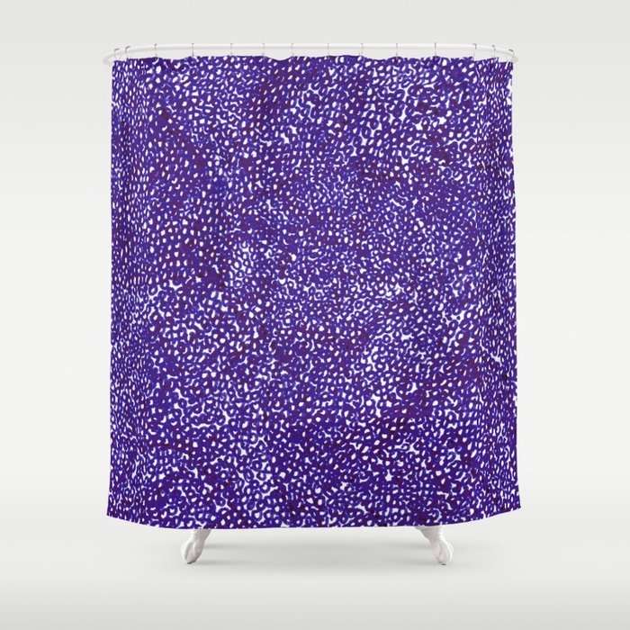 Knitted in Purple Shower Curtain