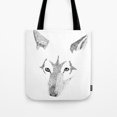 Red Wolf - Can You See How Much Is Left? Tote Bag