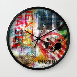 next image no pictures Wall Clock