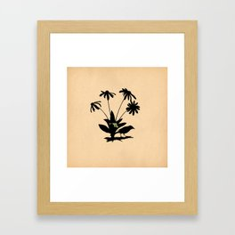 Maryland - State Papercut Print Framed Art Print