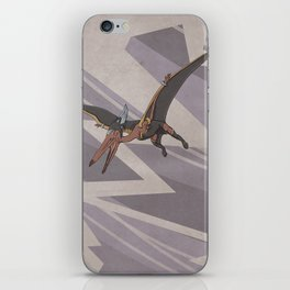 Pteranostorm - Superhero Dinosaurs Series iPhone Skin