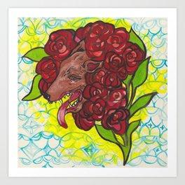 A Hideous Bouquet Art Print