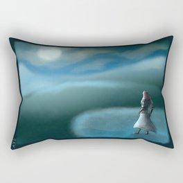 Moon Fall Rectangular Pillow