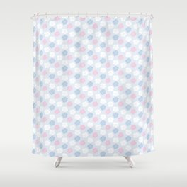 Hana Poppies II - Violet and Pink Shower Curtain