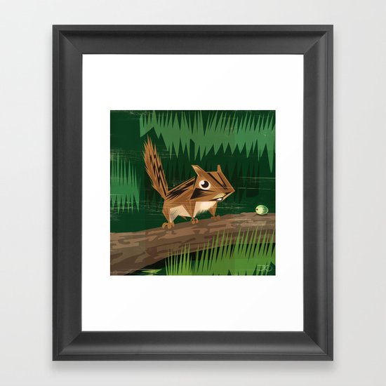 Chip Chip Framed Art Print