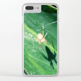 Little Spidey Clear iPhone Case