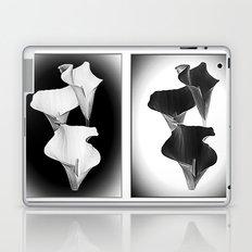 Calla Lillies. Black + White. Laptop & iPad Skin