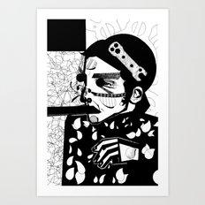 SELF-ABANDONMENT Art Print