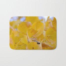 Ginkgo Yellow Leaves Bath Mat