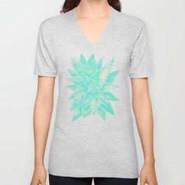 Aloe Vera – Mint Palette Unisex V-Neck