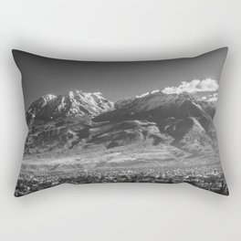 City of Arequipa in Peru with its iconic volcano Chachani Rectangular Pillow