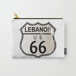 Lebanon Route 66 Carry-All Pouch