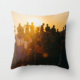 P E A R L S Throw Pillow