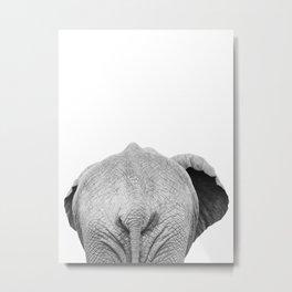 Elephant But Metal Print