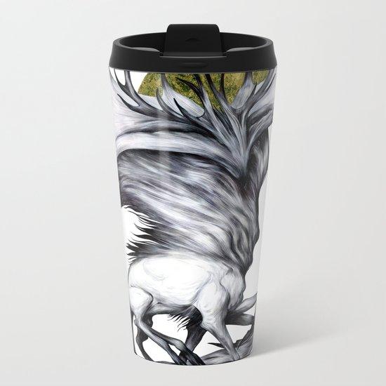 A Forest's Grace Metal Travel Mug