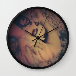 Disassembled Vampire Wall Clock