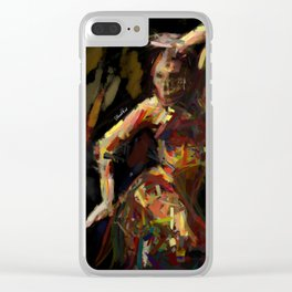 Exotic dancer Clear iPhone Case