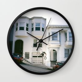Gap to Hill Bomb Wall Clock