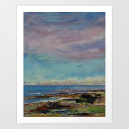 California Seascape Art Print